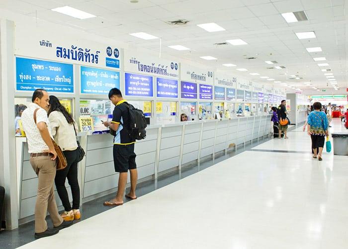 Terminale Sud Degli Autobus (Sai Tai Mai) in Bangkok