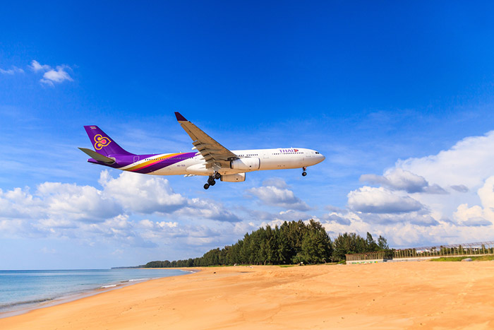 Voli da Bangkok a Phuket