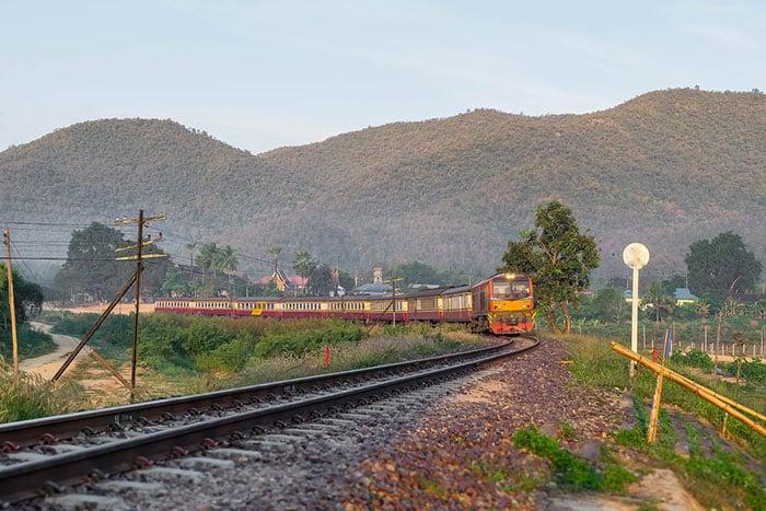 Treno e Autobus da Bangkok a Siem Reap