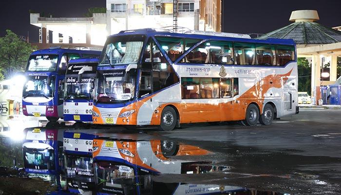 Autobus della compagnia d'autobus gestita dal governo tailandese