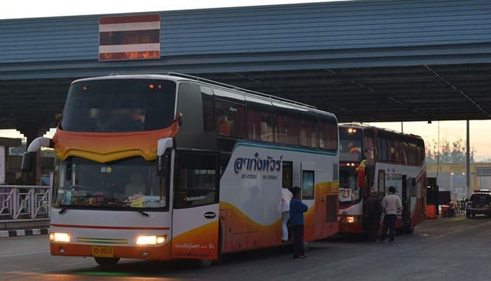 Autobus Diretto da Bangkok a Vientiane
