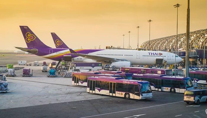 Da BangkokaKoh Phanganin aereo