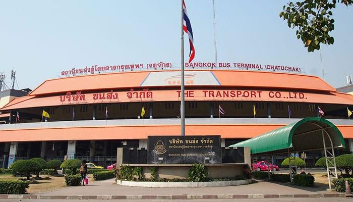 Terminale nord degli autobus (Mo Chit)