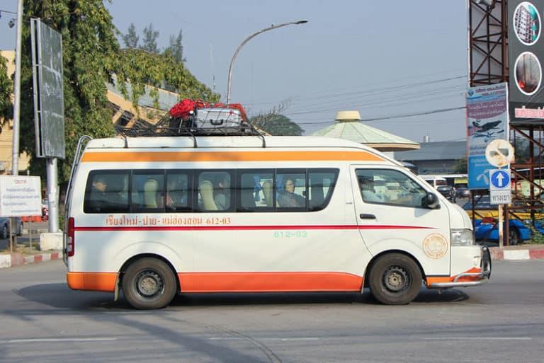 Auto o Minibus Private da Chiang Mai a Chiang Rai