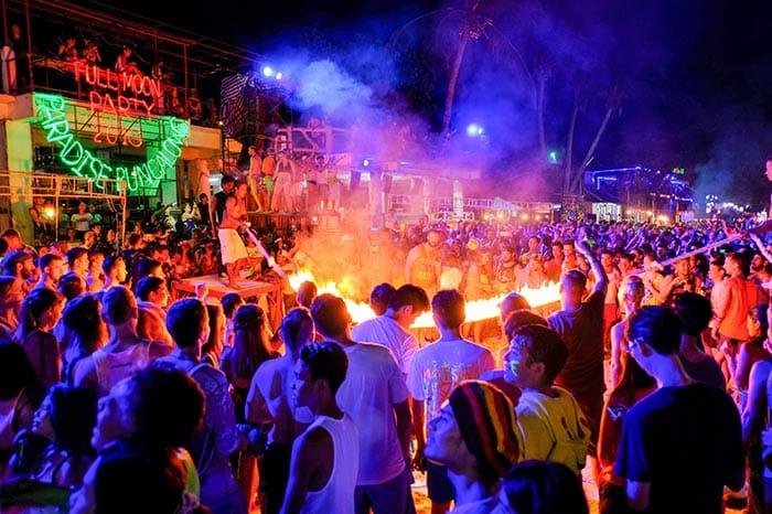 Full Moon Party a Koh Phangan