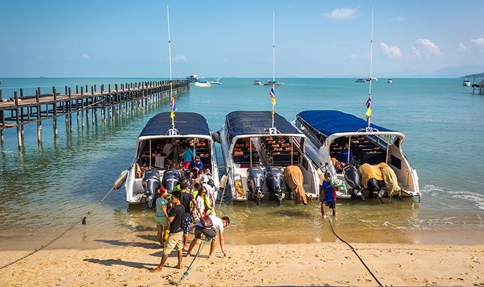 Trova i biglietti di traghetto più economici per andare da Koh Samui a Koh Tao
