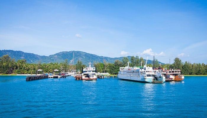 Punti di Partenza del Traghetto a Surat Thani