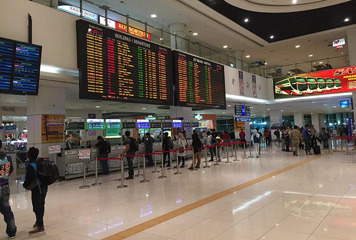 Prendere un Autobus per andare a Penang da Kuala Lumpur