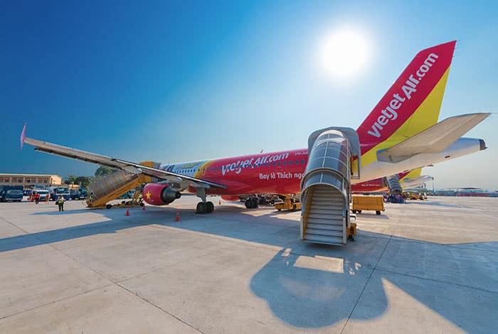 Voli da Hanoi alla città di Ho Chi Minh