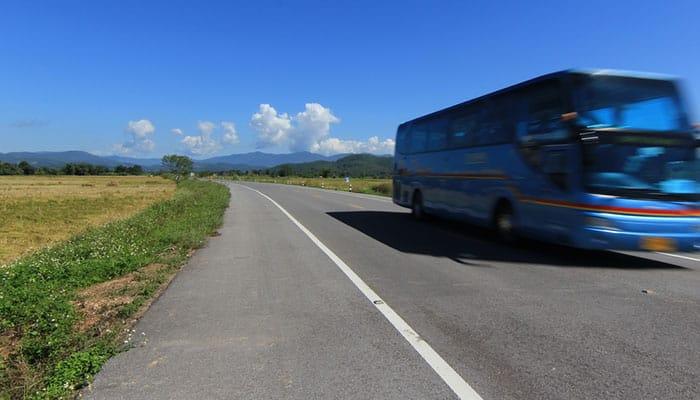 Da Siem Reap a Sihanoukville in Autobus