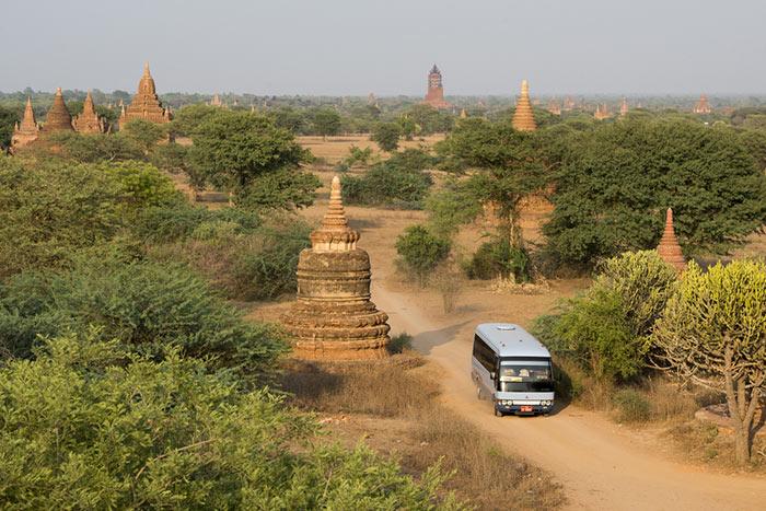 Opzioni di Viaggio per Andare da Yangon a Bagan