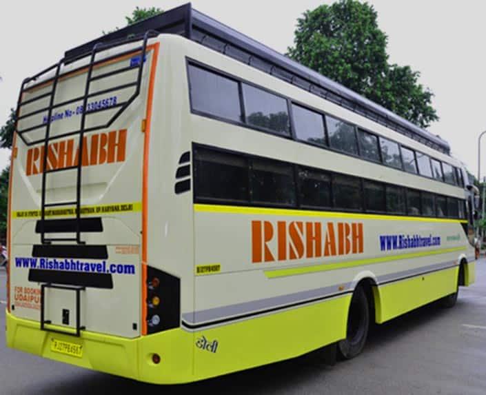 Autobus da Delhi a Jaipur