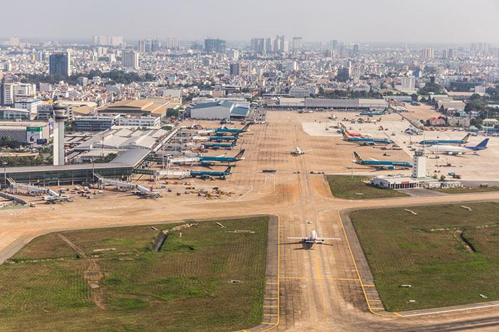 Un Volo da Ho Chi Minh a Phnom Penh