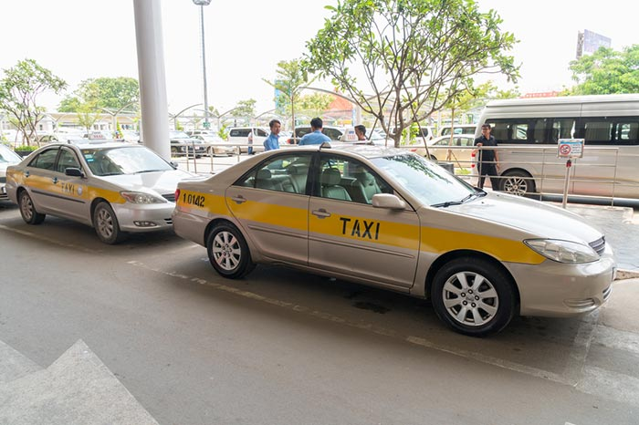 Da Phnom Penh a Sihanoukville in Taxi