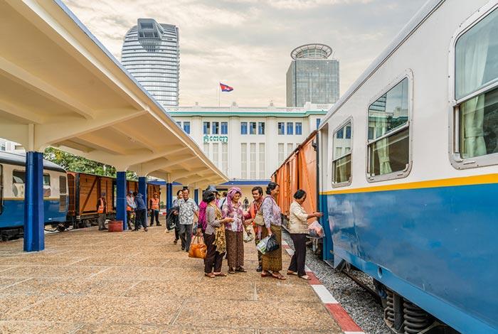 Il Treno da Phnom Penh a Sihanoukville