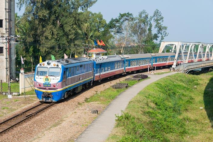 Andare da Da Nang a Hue in Treno