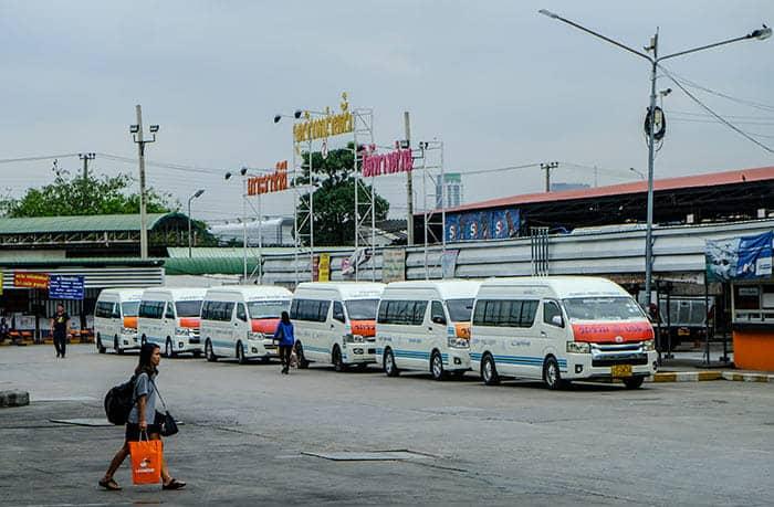 Minibus a Bangkok