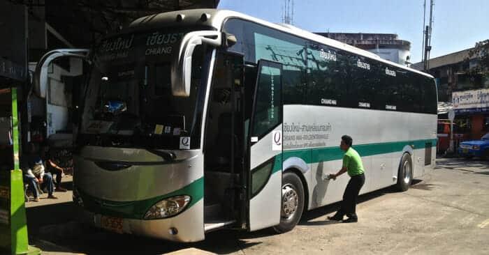 Autobus da Chiang Mai a Chiang Rai