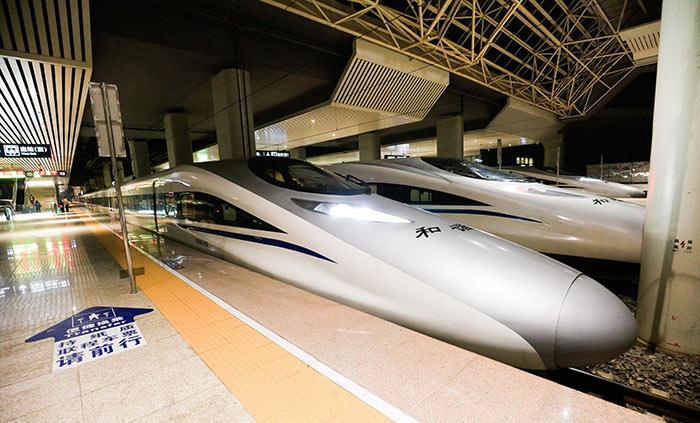 Da Pechino a Shanghai in Treno