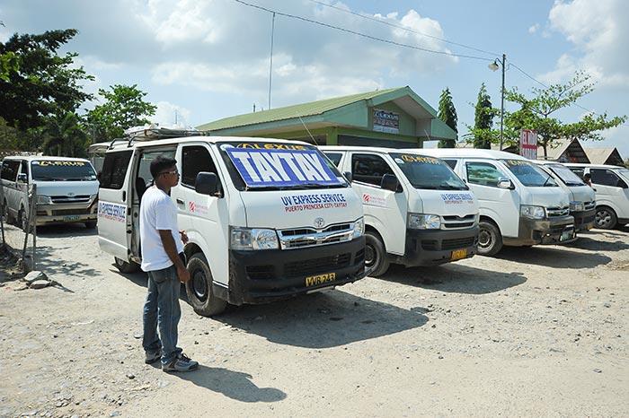 Pulmino da Puerto Princesa a El Nido