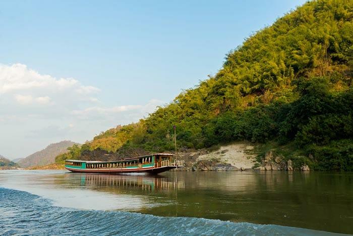 In Barca da Chiang Mai a Luang Prabang