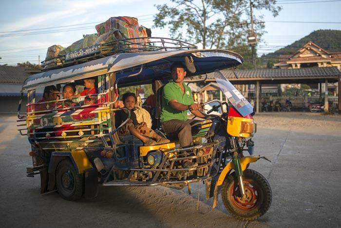 Da Chiang Mai a Luang Prabang in Autobus