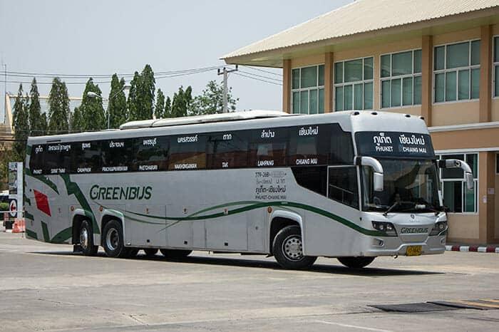 Prendere l'Autobus da Chiang Mai a Phuket