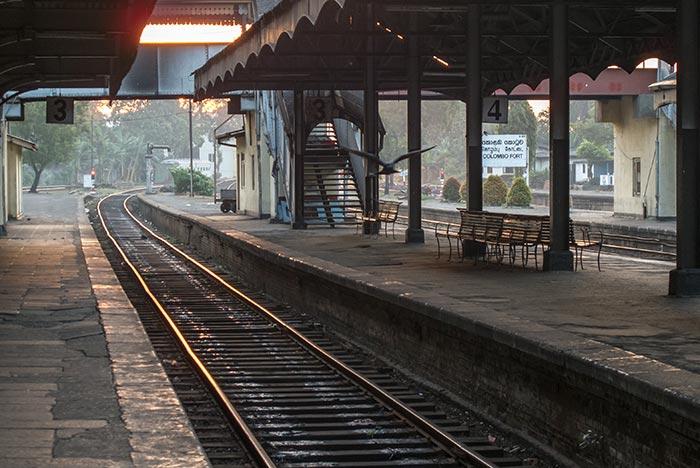 Treno da Colombo a Kandy