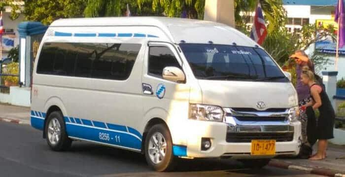 Minibus da Krabi a Phuket