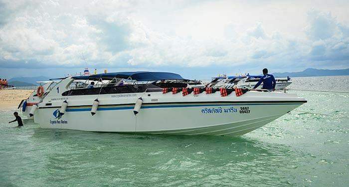 Da Krabi a Phuket in Motoscafo