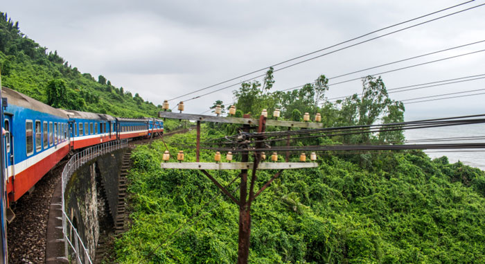 Treno da Hanoi a Ninh Binh