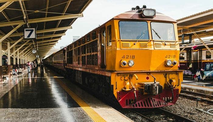 Traghetto, Autobus e Treno da Koh Phangan a Bangkok