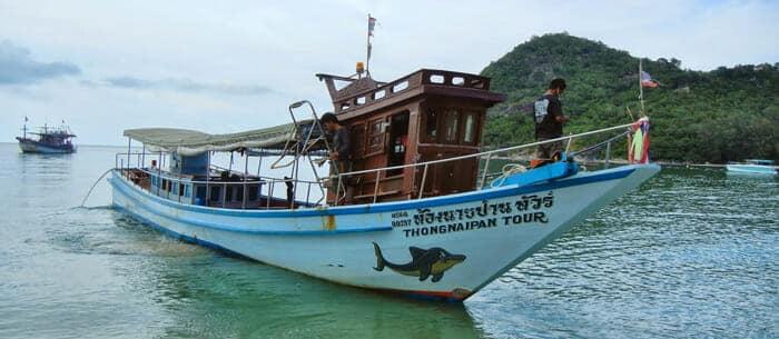 Da Koh Phangan a Koh Samui Thong Nai Pan Express