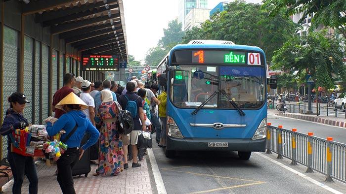 Autobus Locali in Vietnam