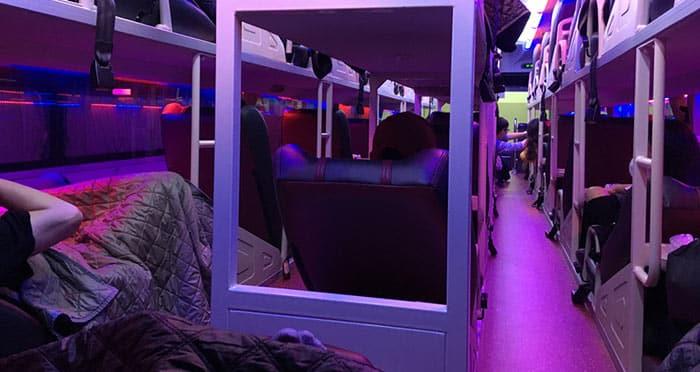 Autobus dormiente a Vietnam
