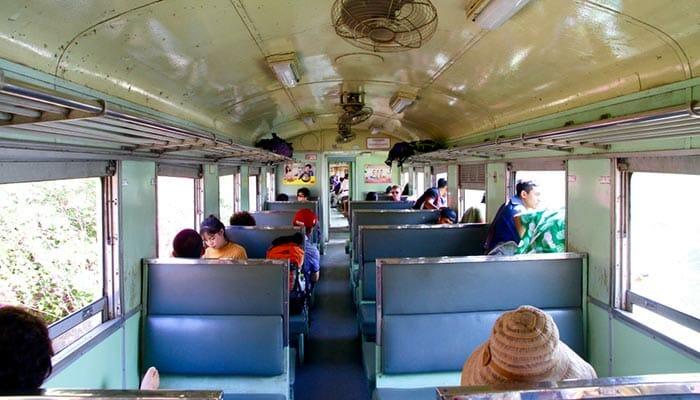Tipi di Classi e Treni in Tailandia