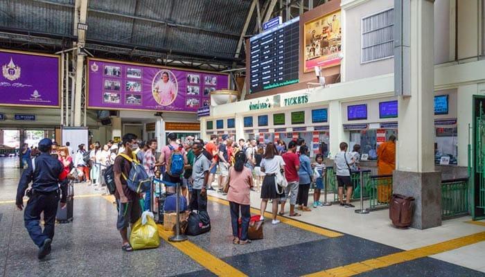 Dove Comprare i Biglietti per Viaggiare in Treno in Tailandia