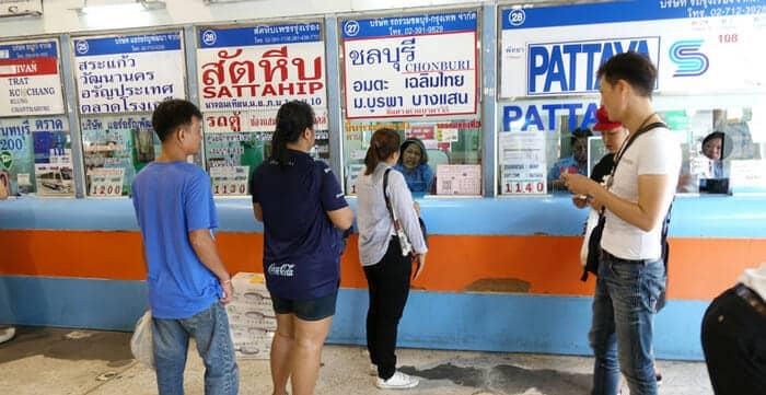 Dove Compare i Biglietti per l'Autobus in Tailandia