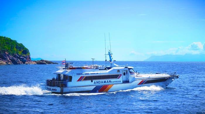 Traghetto da Langkawi a Koh Lipe
