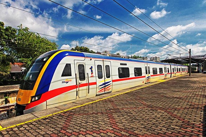 Treno da Kuala Lumpur a Malacca