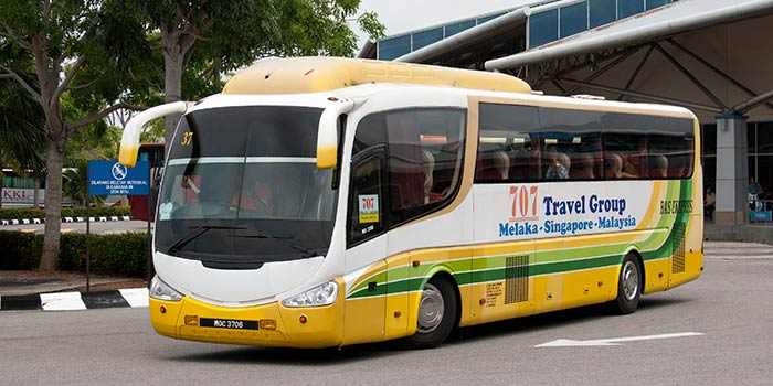 Autobus da Singapore a Malacca