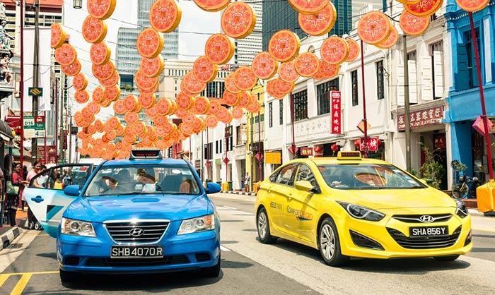Taxi da Singapore a Malacca