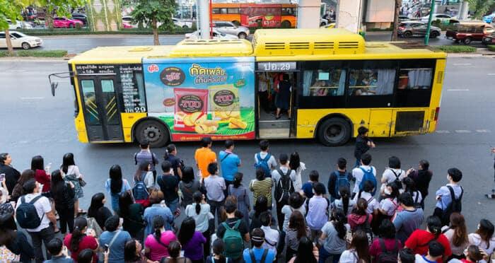 L'Autobus Pubblico in Tailandia