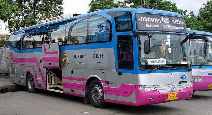 Autobus VIP in Tailandia