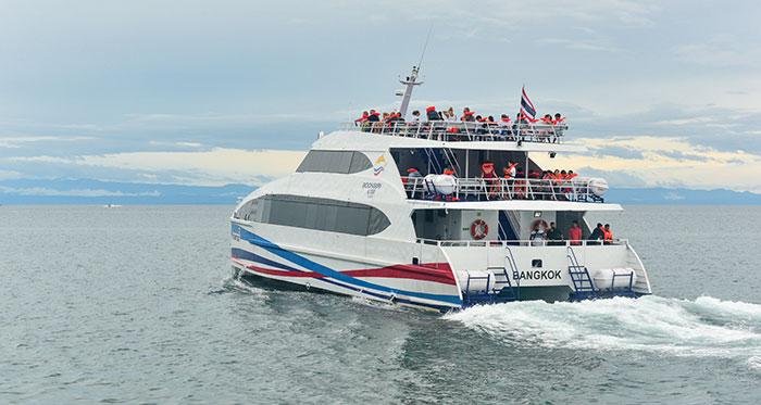 E' sicuro prendere il traghetto in Tailandia?
