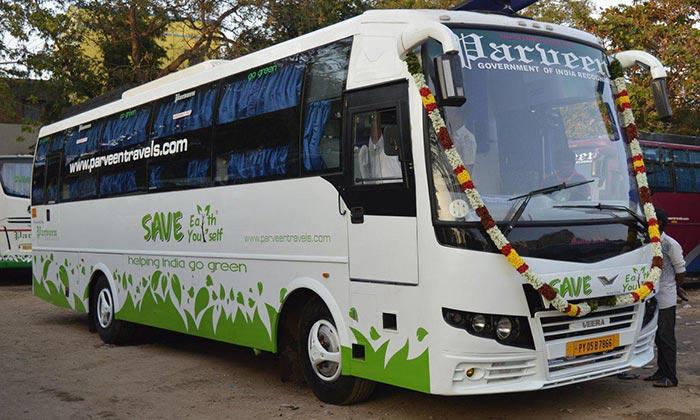 Da Chennai a Kodaikanal in Autobus