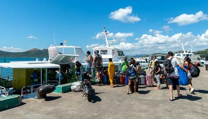 Da Puerto Princesa a Coron in Autobus e Traghetto