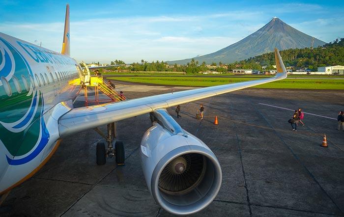 Voli da Manila a Legazpi