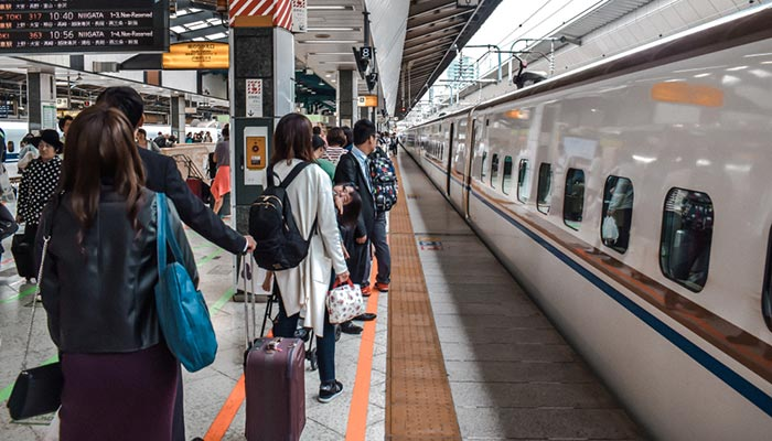 Da Nagoya a Tokyo in Treno