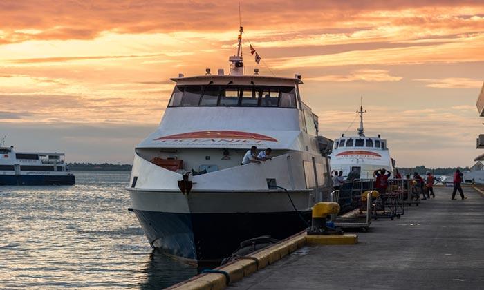 Opzioni di viaggio per andare da Cebu a Siquijor